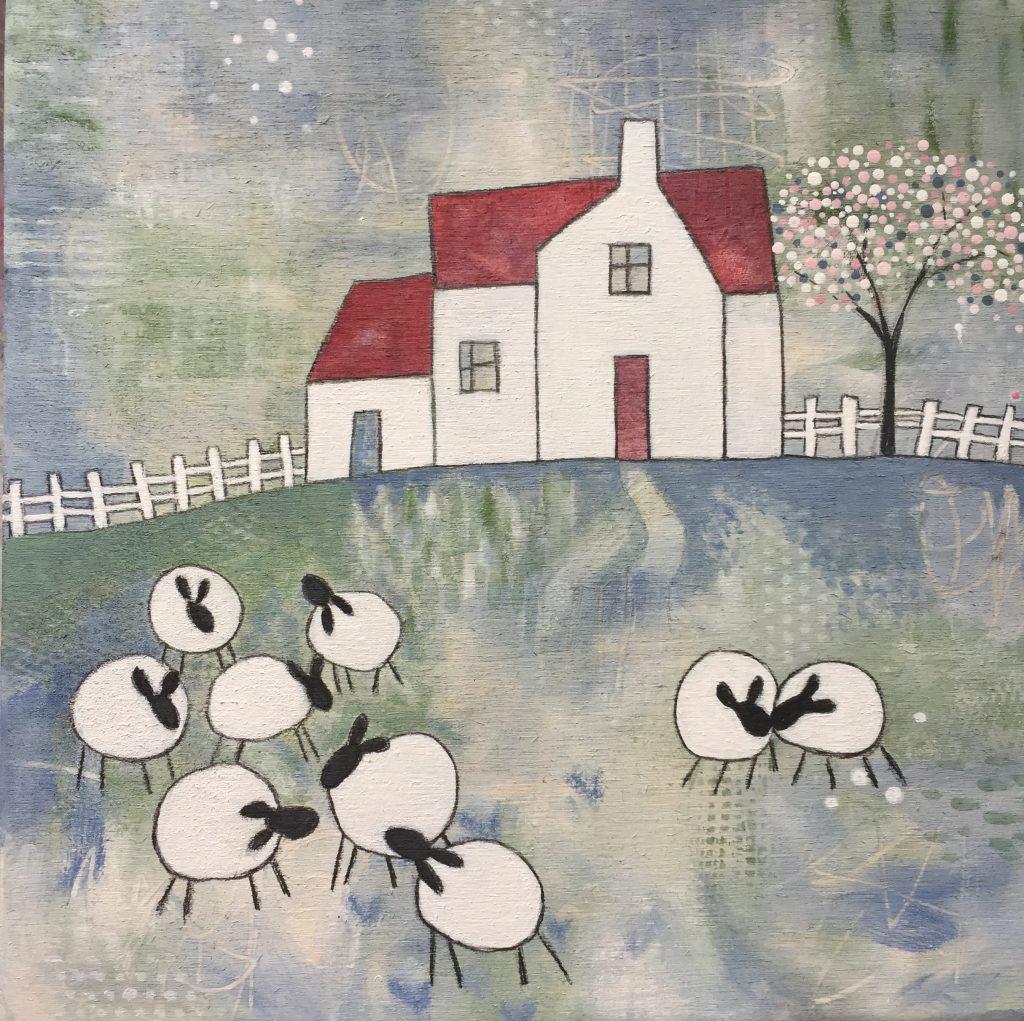 farmhouse - i found you amongst the flock