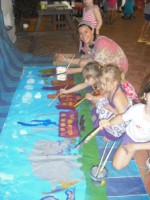 mural painting for website